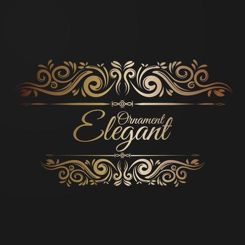 Elegant ornament