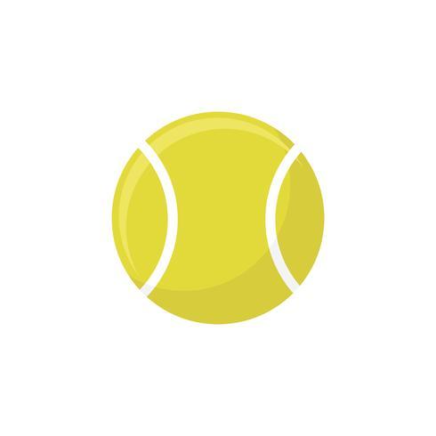 Illustration d'une balle de tennis