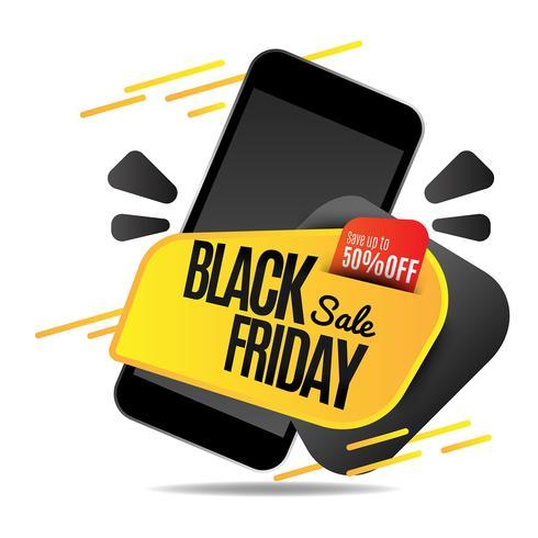 Modelo de design de venda de sexta-feira negra