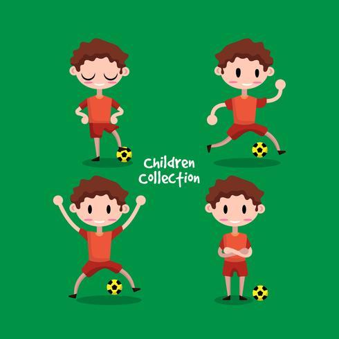 Collection d'enfants professionnels