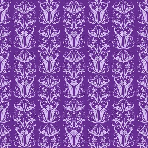 Ornement violet