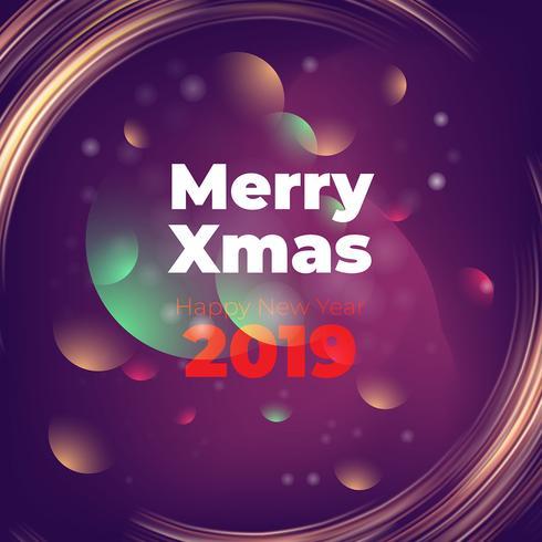 Bellissimo sfondo viola per la stagione di Natale