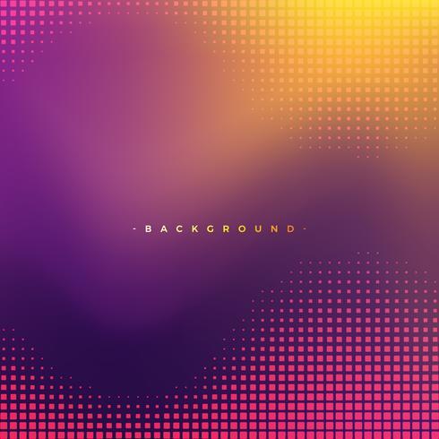 Textura abstracta del fondo púrpura y amarillo con el cuadrado