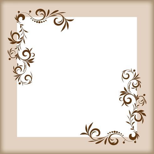 Vector elementi di design floreale