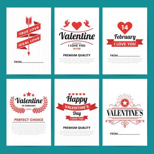 Bannière modèle Valentine fond de vecteur pour la bannière