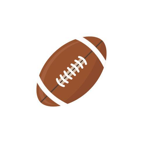 Illustrazione di un football americano
