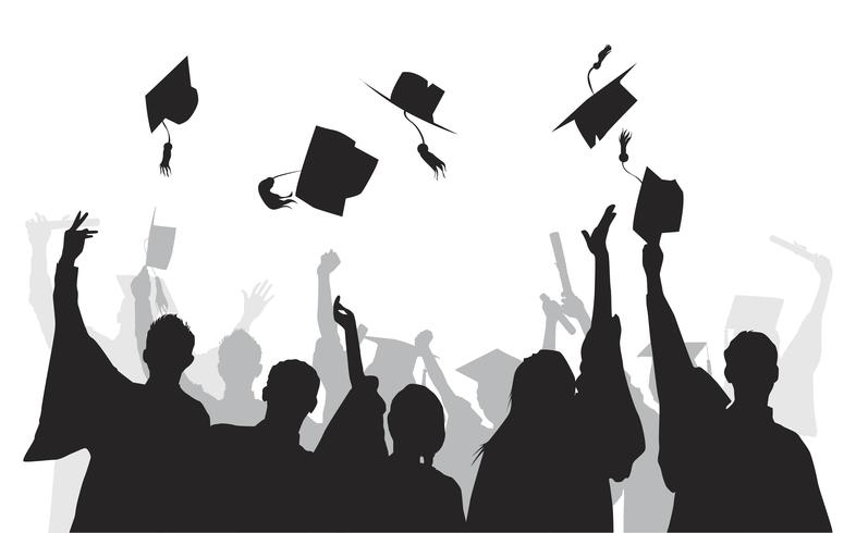 Illustrazione dei laureati