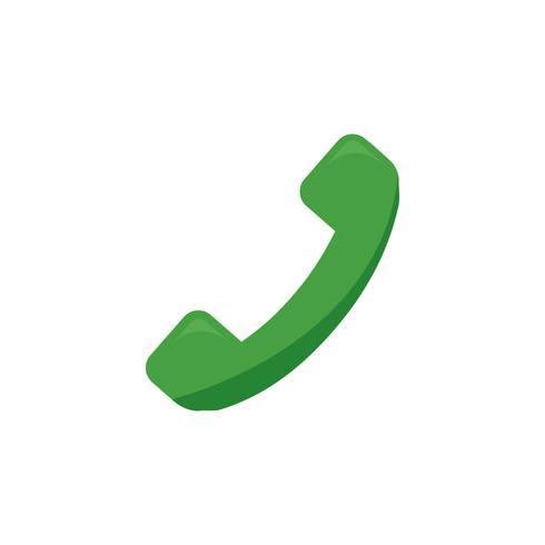 Ilustração, de, um, telefone