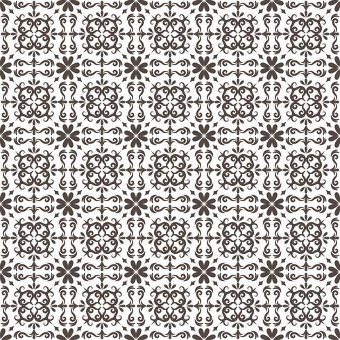 Arredamento Arabesque Modello senza soluzione di continuità Illustrazione vettoriale