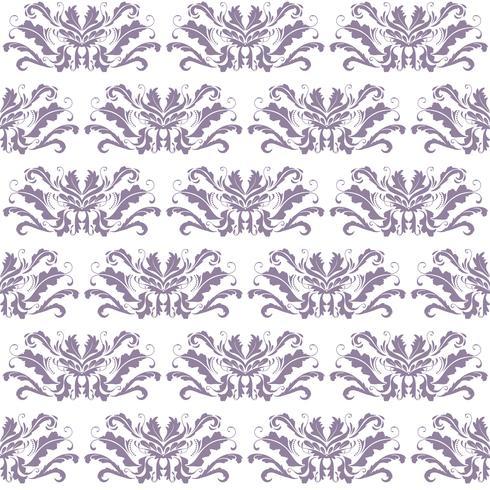 Ornement violet et blanc