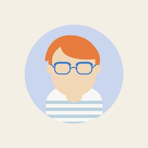 Vecteur d'icônes d'avatar