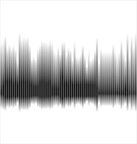 Sfondo astratto spettro nero