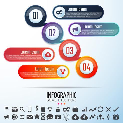 Modello di progettazione infografica