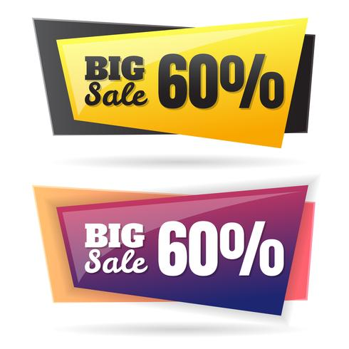 Modelo de Design de Banner de venda