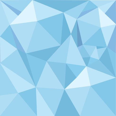 La geometria blu ha strutturato la priorità bassa dell'illustrazione