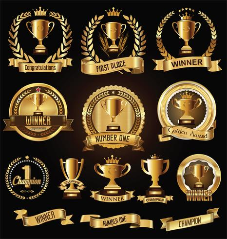 insignia de trofeo