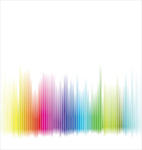Fond arc-en-ciel spectre coloré abstrait