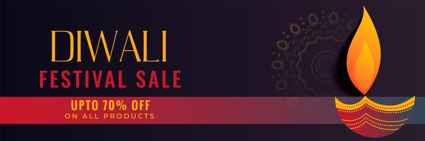 hindoe diwali festival verkoop creatief ontwerp van de banner