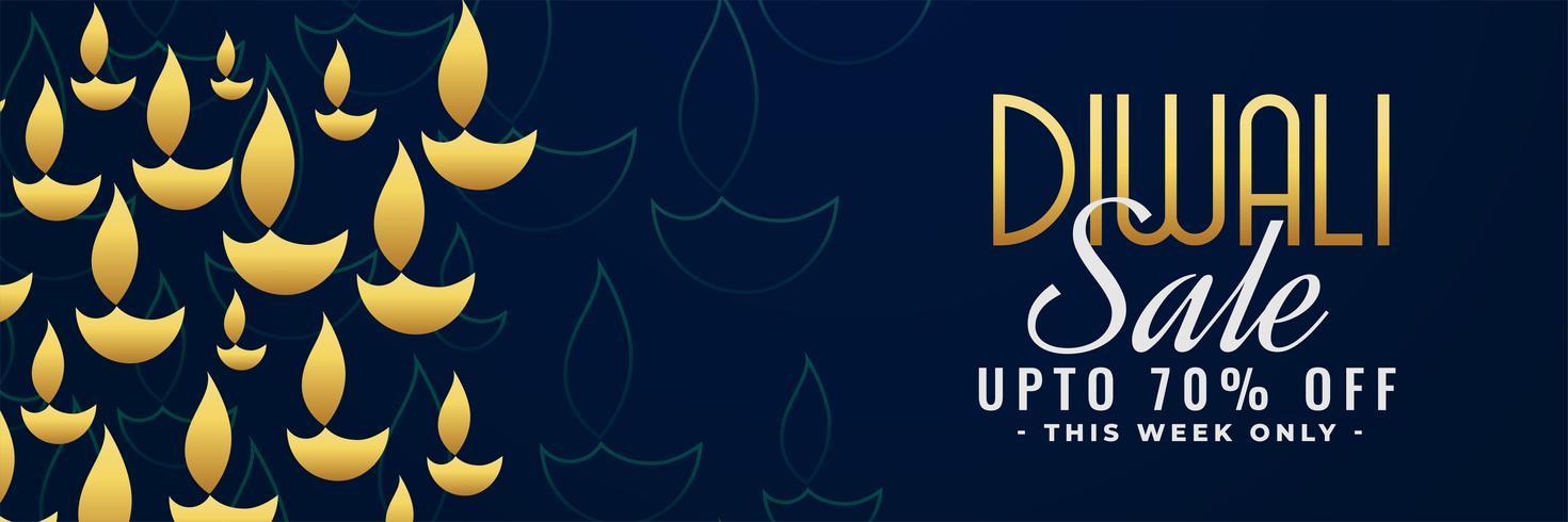 diwali sale banner with offer details