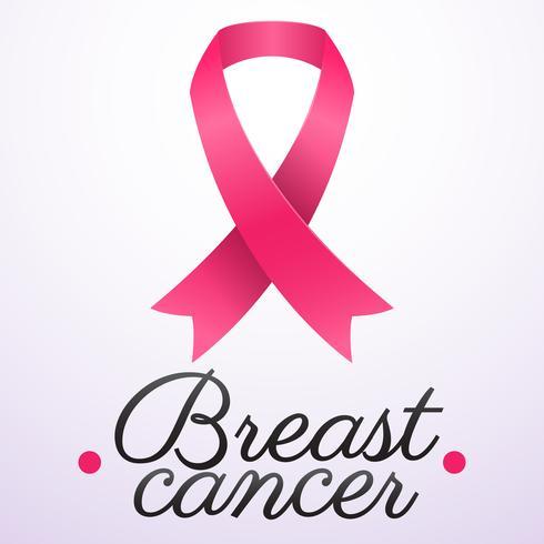 Fondo de Vector de conciencia de cáncer de mama