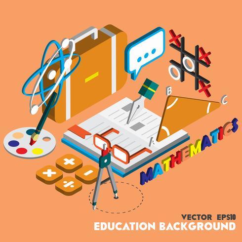 illustration av info grafisk utbildning set koncept