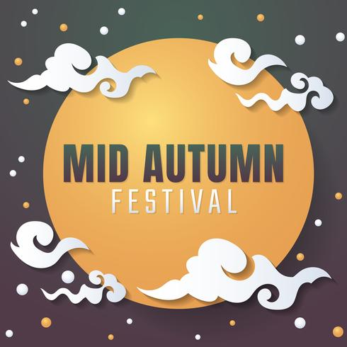 Mid Autumn Festival Vector background