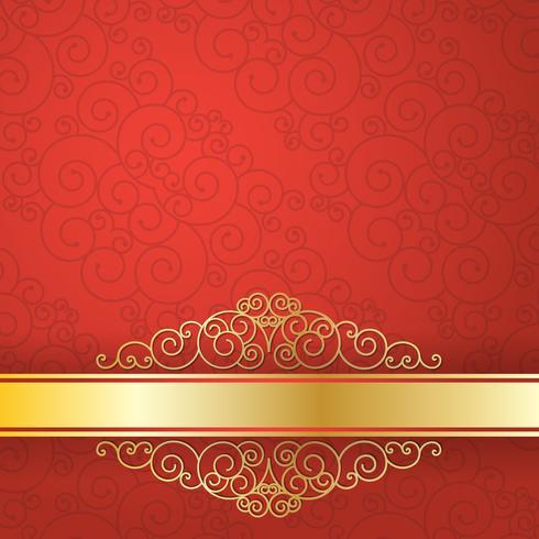 Modello di progettazione stile flyer sfondo oro