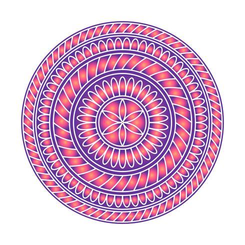 Mandala ornament vector afbeelding