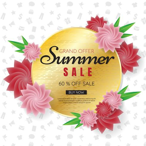 estate vendita modello banner Vector sfondo