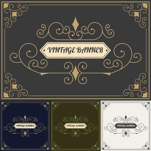 Vintage background style Design Template