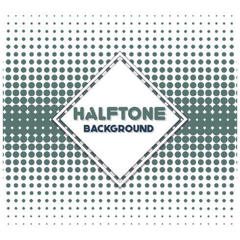 Vintage halftone stijl achtergrond ontwerpsjabloon