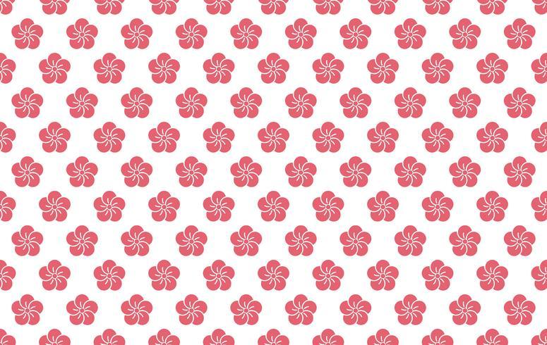 Patrón tradicional japonés, ilustración vectorial inconsútil.