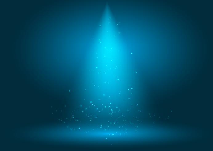 Spotlight-Anzeigehintergrund