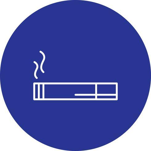 Ícone de cigarro de vetor