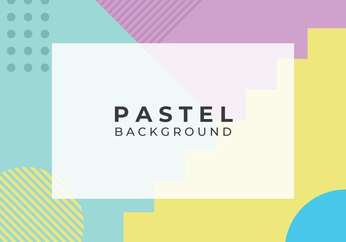 Geometrisk Abstrakt Pastell Bakgrund