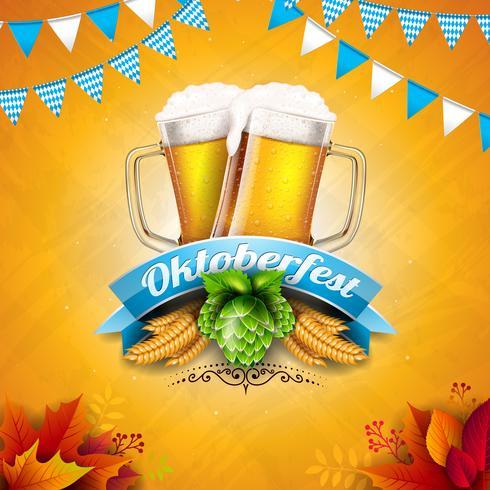 Oktoberfest Banner Ilustración