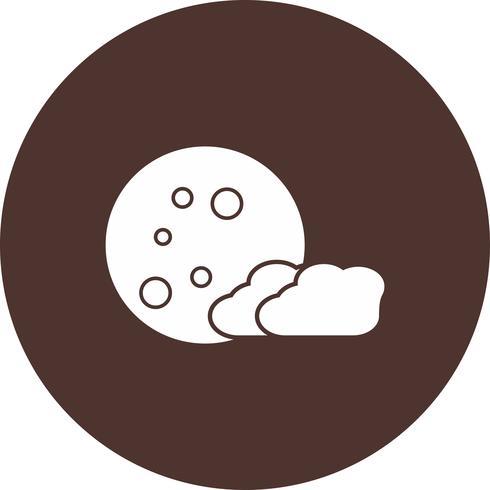 vector moon icon