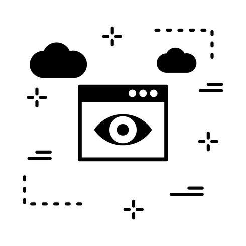 ícone de navegador de vetor
