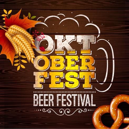 Oktoberfest Banner Illustration  vector