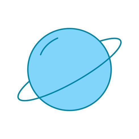 vector planeet icoon