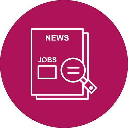 Vektor-Jobs-Symbol