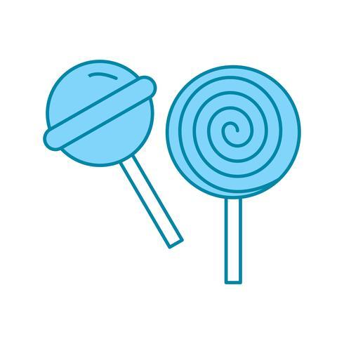 icona di caramelle vettoriale