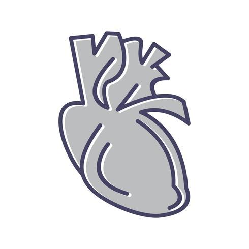 Herzlinie gefüllt Symbol
