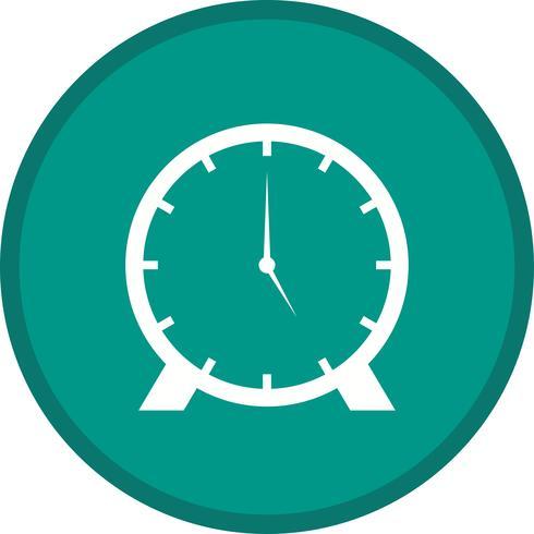 Icône remplie d'horloge