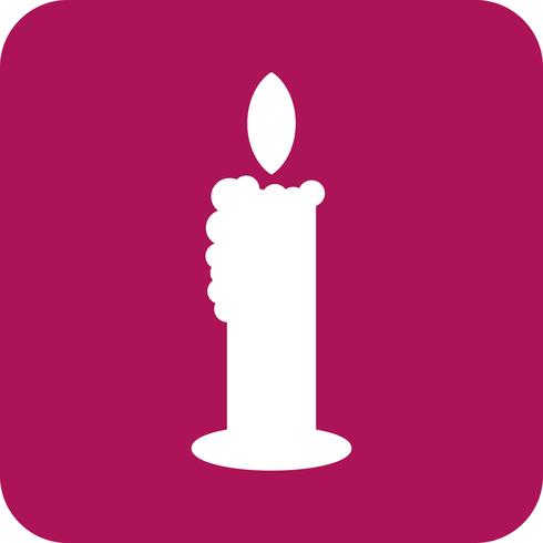 Vektor-Kerze-Symbol