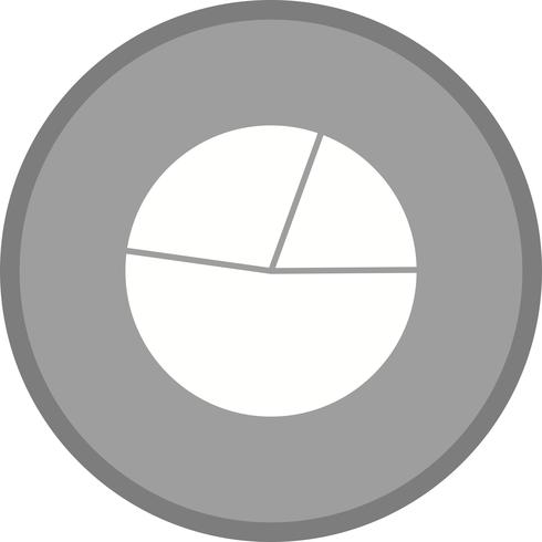Pie chart filled icon