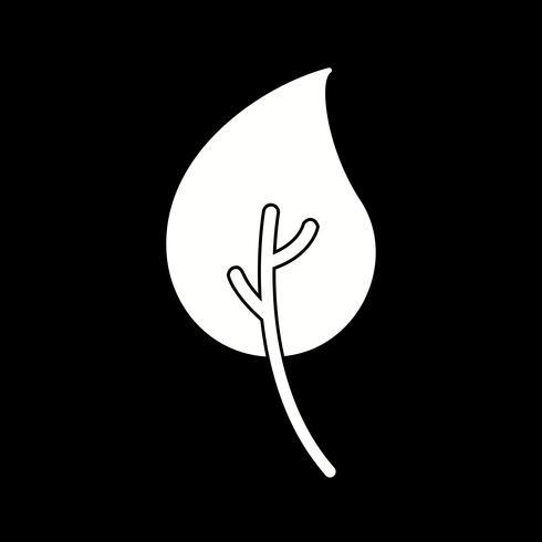 Vektor-Blatt-Symbol