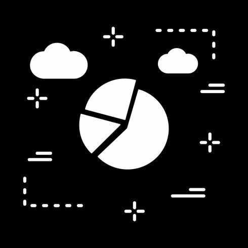 icône de graphique vectoriel