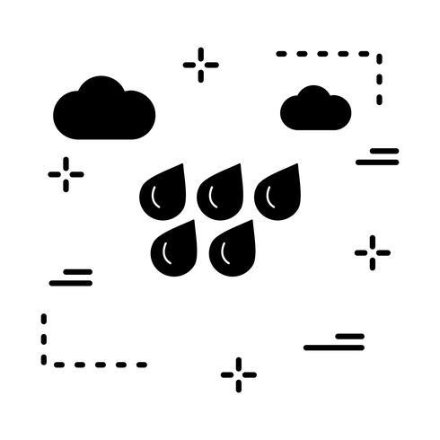 Vektor Wasser Tropfen Symbol