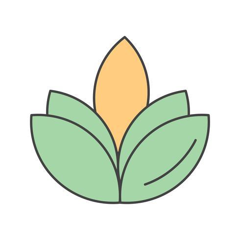 vector flower diwali icon
